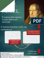 3. Hegel. Il sistema. Logica e Filosofia della natura