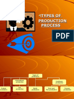 Types of Production Process