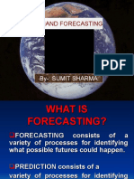 What is Forecasting by Sumit
