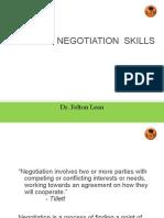 Building Negotiation Skills----Cener