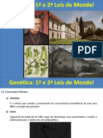Aula 1 e 2 Leis de Mendel1