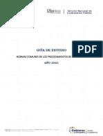 Guía de Estudio Normas Comunes de La Contratación Pública