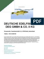 Deutsche Edelfisch DEG GmbH
