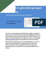 Joomla 1.6 Gebruikersgroepen en Rechten - Tips en Tools Voor Joomla! 1.6