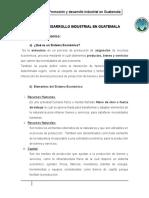 Promoción y desarrollo industrial