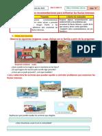 ACTIVIDAD 5- 17 Proponemos Recomendaciones Para Enfrentar Las Lluvias Intensas
