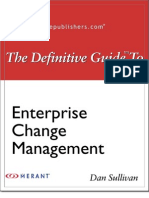 Definitive Guide to Enterprise Change Management