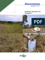 Avaliação Agronômica de Forrageiras EMBRAPA