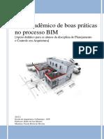 Guia acadêmico sobre boas práticas no processo BIM