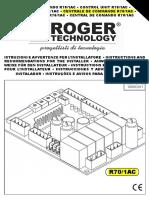 CENTRAL DE COMANDO ROGER R70