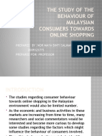 The Study of the Behaviour of Malaysian Consumers