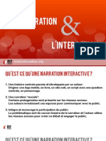 Webdoc, La narration et l'interaction