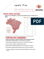 mapa da vacinação no Brasil