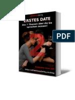 Erstes Date (Teil 2)  – Die 7 Themen über die Sie sprechen müssen