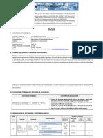 Silabo metodologia de desarrollo de software - 2021