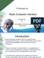 Brain Computer Interface Final Ppt