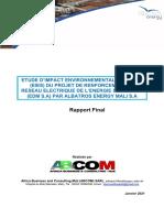 Rapport Final EIES EDM Energie Mali
