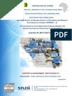 Guinea_Rapport d'avancement n° 1_Etude Plan Direc