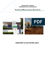 Rapport Annuel Dactivites de Lare Pour 2018