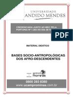 BASES SOCIO-ANTROPOLÓGICAS