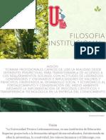 filosofia institucional