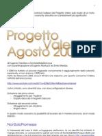 [Altra Scienza n.72] - Progetto Valery Agosto 2009
