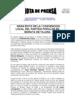 Nota de Prensa Convencion 2011