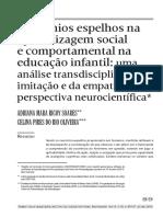 Neurônios-espelho Na Apredizagem Social