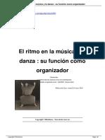 El Ritmo en La Musica y La Danza Su Funcion Como a860