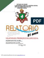 Relatório 2003 a 2006 _balanço geral do comando