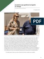 elpais.com-Así funciona el mecanismo que gestiona la ingente fortuna de Amancio Ortega