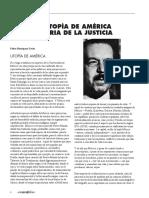 Pedro Henriquez Ureña - La utopía de America - Patria de la justicia