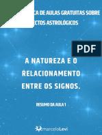 AULA 1 a Natureza e o Relacionamento Entre Os Signos (1)