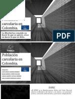 Población carcelaria en Colombia