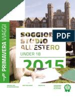 Catalogo U18 2015
