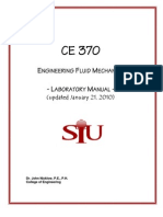 darcy weisbach equation. ce370_labmanual_2010. ce370_labmanual_2010 darcy weisbach equation