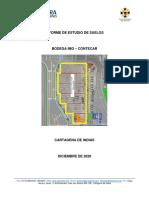 INFORME  DE ESTUDIO DE SUELOS BODEGA IMO -CONTECAR