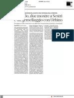 Carlo Bo, due mostre a Sestri e un gemellaggio con Urbino - La Repubblica del 23 agosto 2021