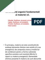 Constituenţi organici fundamentali ai materiei vii.v2