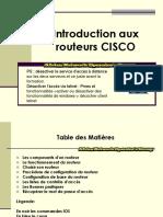 formation configurtaion routeur CISCO