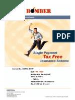 Tax saving plan