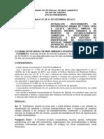 Resolução CONEMA 055 - padrão de cores para coleta seletiva simples no RJ