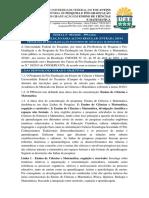 Edital n001 2018 Ppgecim