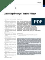 Zalecenia profilaktyki ileczenia odleżyn - pełny tekst