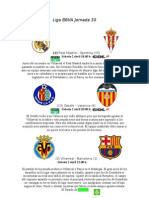 Liga BBVA Jornada 30