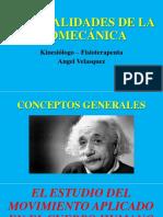 Generalidades de la biomecánica (1)