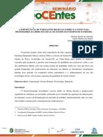 A IMPORTÂNCIA DE FORMAÇÕES REMOTAS SOBRE O G SUITE PARA PROFESSORES DA REDE ESTADUAL DE ENSINO EM TEMPOS DE PANDEMIA