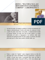 slides sujeito para Foucault