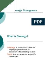 Strategic Management intro
