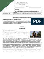 FORMACION VALORICA (Perseverancia) GUIA 8 - 8 BASICO